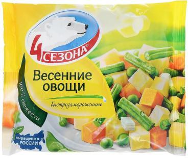 Овощи Весенние, 4 Сезона