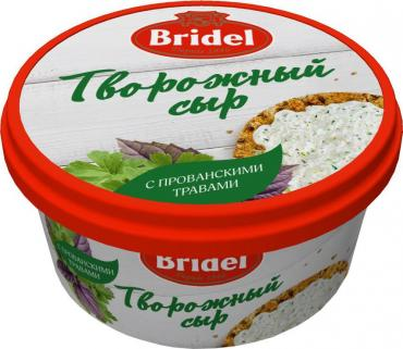 Сыр Bridel Творожный с прованскими травами