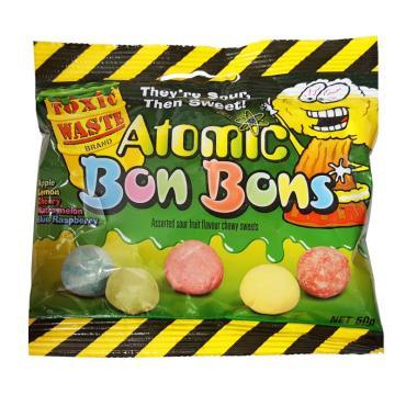 Драже Toxic Waste Atomic Bon Bons 50 г