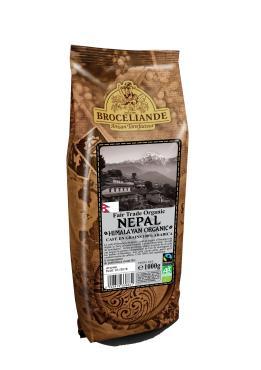 Кофе Broceliande Nepal в зернах 1000 г.
