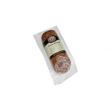 Колбаса с/к нарезка Черкизово Сальчичон, 400 гр., вакуумная упаковка