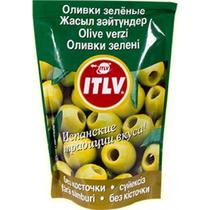 Оливки ITLV зеленые без косточки