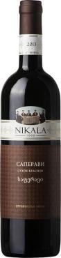 Вино Никала 1862 Саперави / Nikala 1862 Saperavi,  Саперави,  Красное Сухое, Грузия