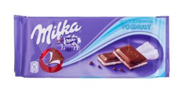 Шоколад Milka Йогурт