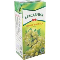 Нектар Красавчик Яблоко-Виноград 1,9 л.