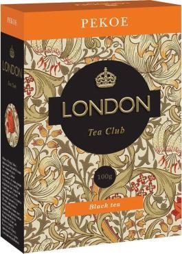 Чай London Tea Club Pekoe черный листовой
