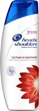 Шампунь против перхоти Head&Shoulders Густые и крепкие