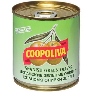Оливки Coopoliva зелёные