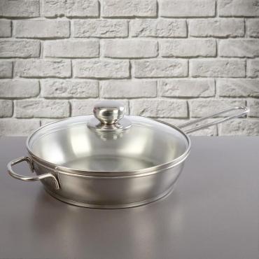 Сковорода Amet Классика-прима 22 см. 1,5 л. с ТРС-3
