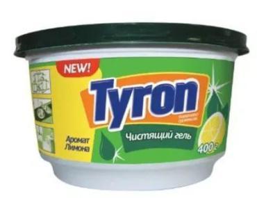 Гель для посуды Tyron чистящий