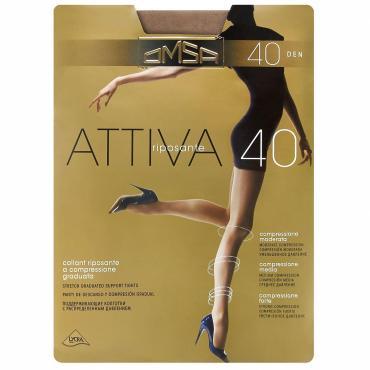 Колготки OMSA Attiva caramello 40 den размер 2