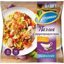 Полуфабрикат Vитамин Паэлья с морепродуктами в соусе Севилья