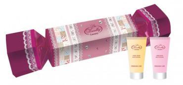 Набор Liss Kroully Luxury Парфюмерно-косметический Конфета Крем для рук увлажняющий, Маска для рук увлажняющая
