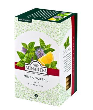 Чай Ahmad Травяной минт коктэйль в пакетиках