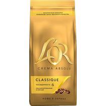 Кофе L'or, Crema Absolu Classique в зернах натуральный жареный, 230 гр., дой-пак