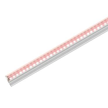 Светильник для растений светодиодный линейный, 870 мм., выключатель на корпусе, пластик, спектр для фотосинтеза, ULI-P17-14W/SPLE IP20 WHITE, Uniel, 300 гр., картонная коробка