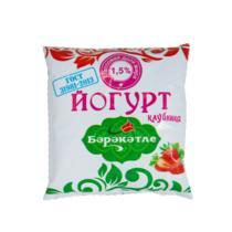 Йогурт Бэрэкэтле клубника 1,5% 450 г
