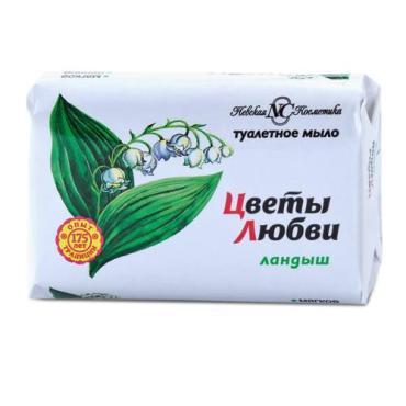 Мыло туалетное Невская Косметика Цветы Любви Ландыш