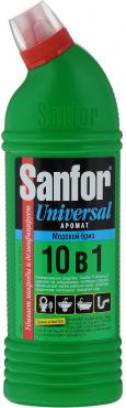 Гель чистящий Sanfor Universal 10в1 Морской бриз