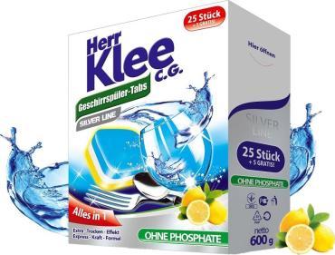Таблетки для посудомоечных машин Herr Klee (30 штук)