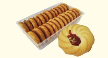 Восточные сладости Афипский хлебокомбинат Курабье Афипское, 230 гр., без упаковки