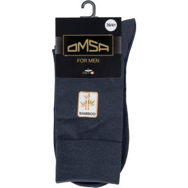 Носки мужские Omsa 203 Grigio Scuro, 45 гр.