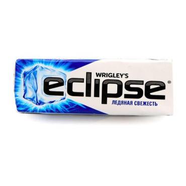 Жевательная резинка Eclipse Ледяная свежесть, 13,6 гр., обертка фольга/бумага