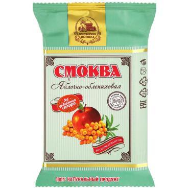Смоква яблочно-облепиховая Бабушкина пастила, 50 гр., флоу-пак