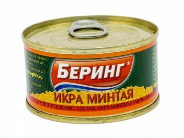 Икра Беринг Минтая