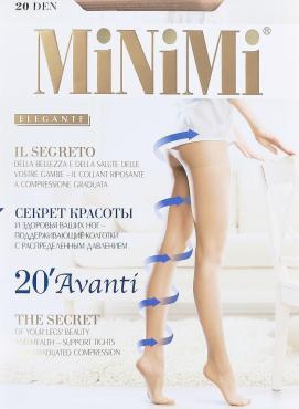 Колготки Minimi Avanti Avanti 20 Daino 7XХL, пластиковый пакет