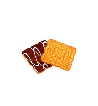 Печенье Дымка Царское чаепитие глазированное весовое