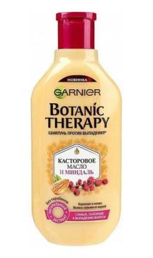 Шампунь Garnier Для волос Botanic Therapy Касторовое масло и миндаль