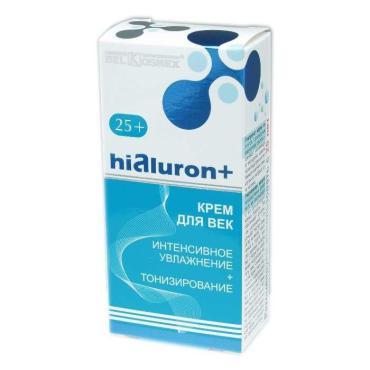 Крем для век BelKosmex Hialuron+ интенсивное увлажнение и тонизирование
