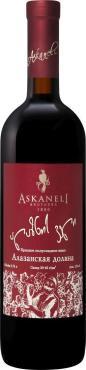Вино красное полусладкое Askaneli Brothers, Alazany valley, 750 мл., Стекло