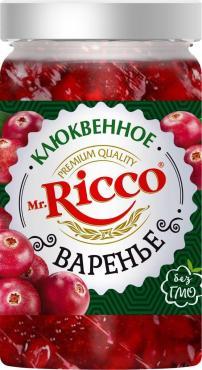 Варенье Mr. Ricco клюквенное, 310 мл, стекло