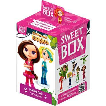 Мармелад с игрушкой Сказочный патруль, Sweet Box, 10 гр., картон