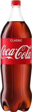 Газированный напиток, Coca-Cola 2 л., ПЭТ