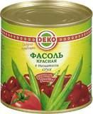 Фасоль Deko красная в томатном соусе