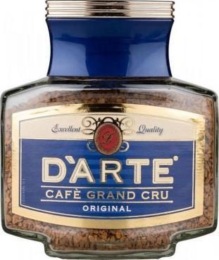 Кофе D'arte original натуральный растворимый сублимированный