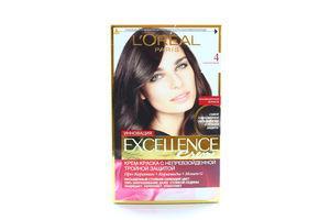 Крем-краска для волос L'Oreal Excellence Каштановый №4