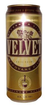 Пиво Velvet светлое 5,1%