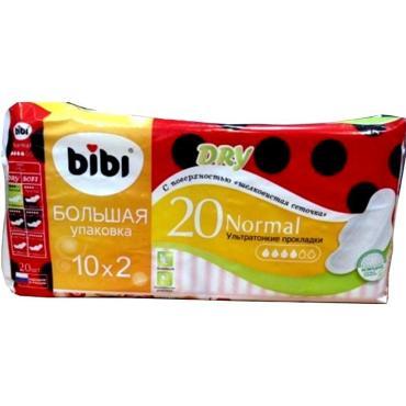 Гигиенические прокладки Bibi normal dry 20 шт