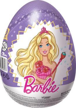 Шоколадное яйцо Конфитрейд Шоки-Токи Barbie XXL, 6 шт