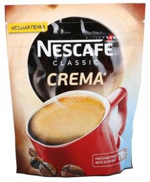 Кофе Nescafe Classic Crema 70гр