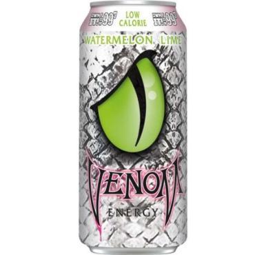 Энергетический напиток Venom Watermelon Lime Low Calorie, 473 мл., ж/б