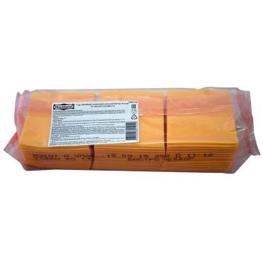 Сыр Hochland Бистро чеддер плавленый 50% нарезка