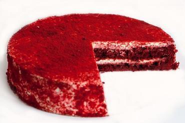 Торт La Creme Красный бархат