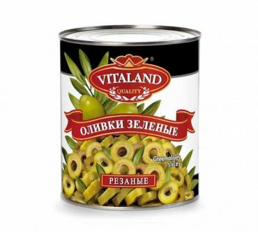 Оливки  Vitaland резаные кольцами , Испания