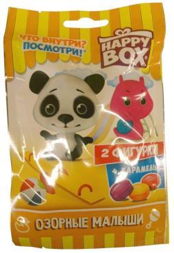 Конфеты Happy Box Озорные малыши с игрушкой, 18 гр., флоу-пак