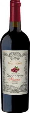 Вино Гудбери Премиум Клюква / Goodberry Premium Сranberry,  Сок ягоды Клюква,  Красное Полусладкое, Россия